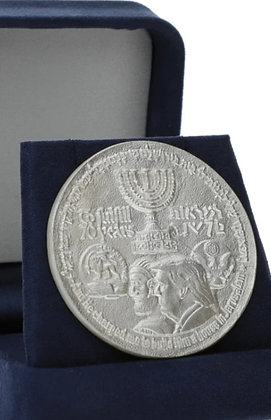 925 Sterling Silver Trump coin