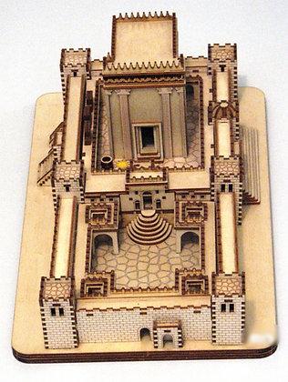 בית המקדש - עץ מפורט