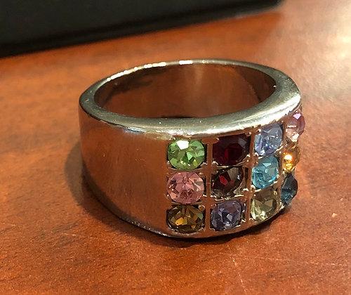 """""""טבעת רודיום """"חושן"""