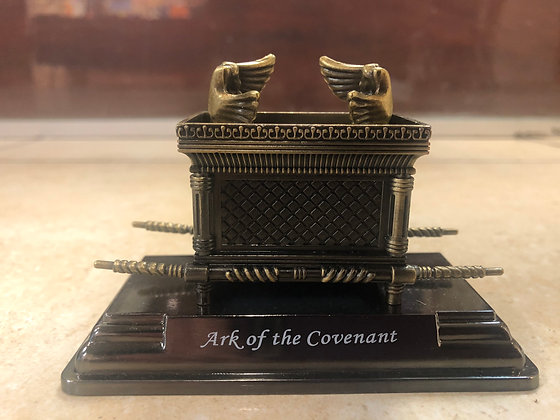 Small Metal Ark of the Covenant