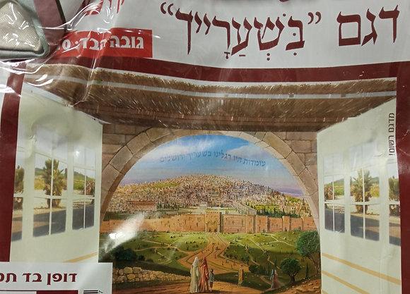 בד סוכה בשערייך ירושלים