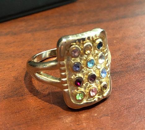 """""""טבעת כסף """"החושן"""