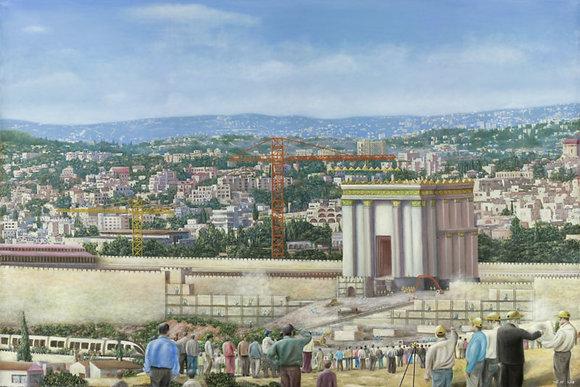Building the future Temple