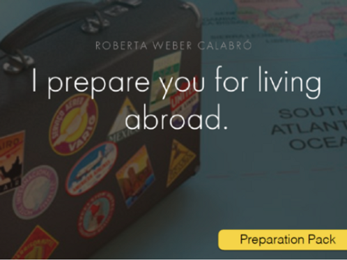 Pack preparation abroad (7 steps) - 3 sessions