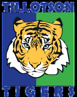 Tilotson Tigers Mascot Logo