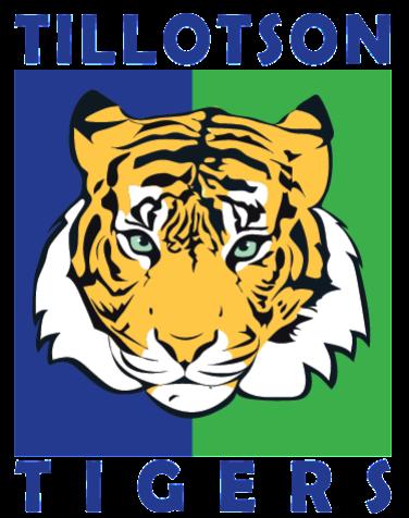 Tillotson Tiger Mascot Logo