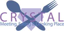 Crystal Bar and Lounge Concpt Logo