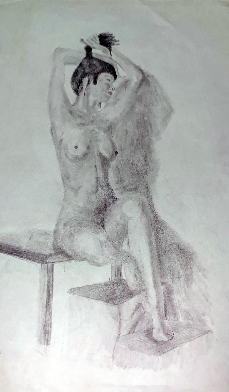 Nude Portrait Study