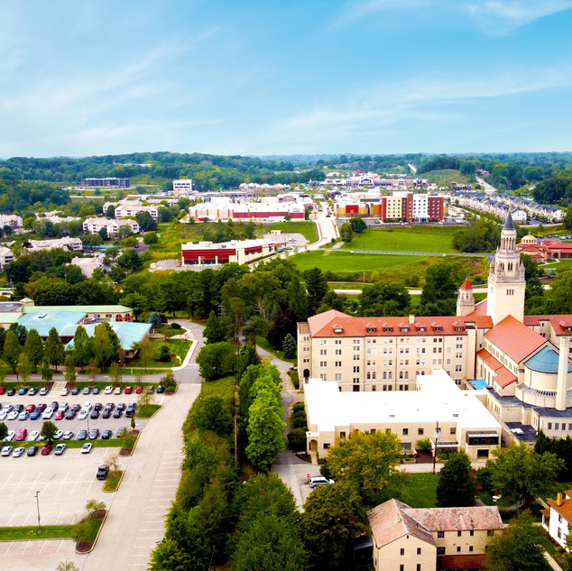 La Roche Campus_Drone_photography