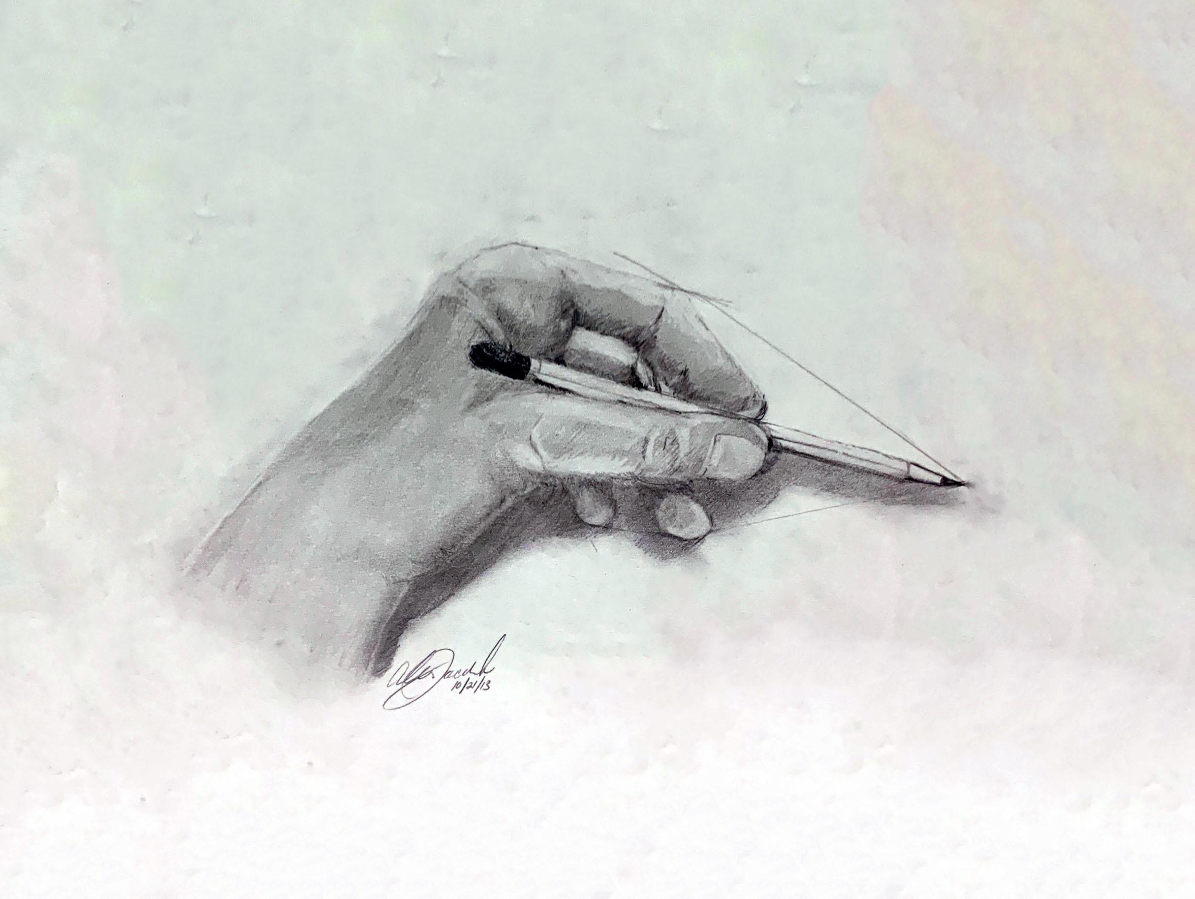 Left Hand Study