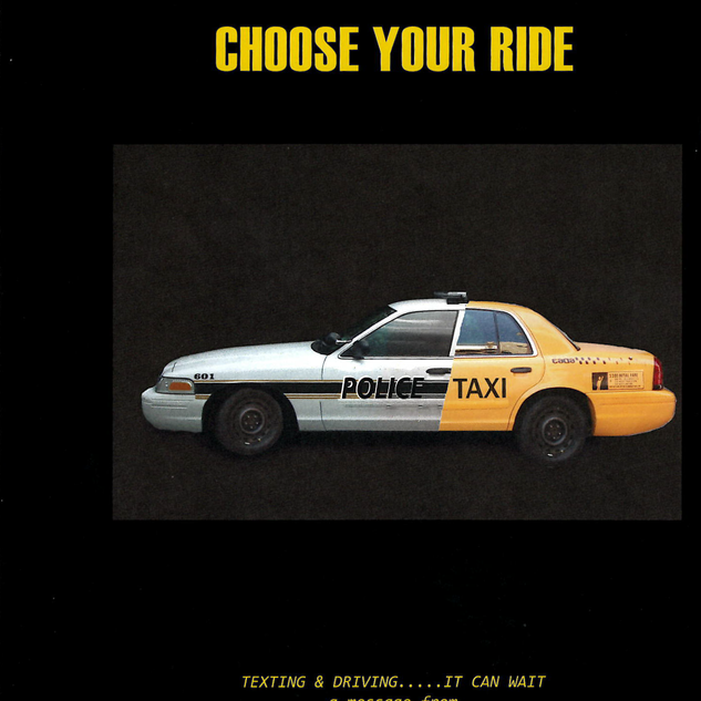 Text and Drive Advertisement