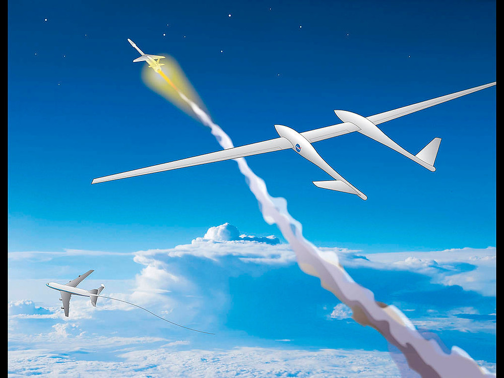 NASA TGALS two-stage air-launched reusable launch system