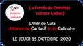 Le dîner de Gala Caritatif, du Jeudi 26 mars 2020 à Rennes, est reporté au Jeudi 15 octobre et mettr