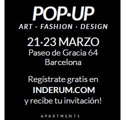 Visitanos en INDERUM Pop-up Store