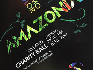 "VIII Latin American Charity Ball ""AMAZONIA RITMO & COLOR"""