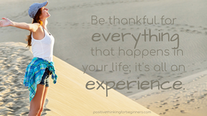 Try Adopting an Attitude of Gratitude and see the Difference It Can Make in Your Life