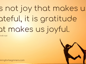 26 Quotes on Why it's Important to Have an Attitude of Gratitude