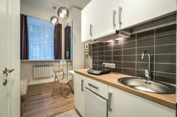 Мини-кухня в апартаменте - 106