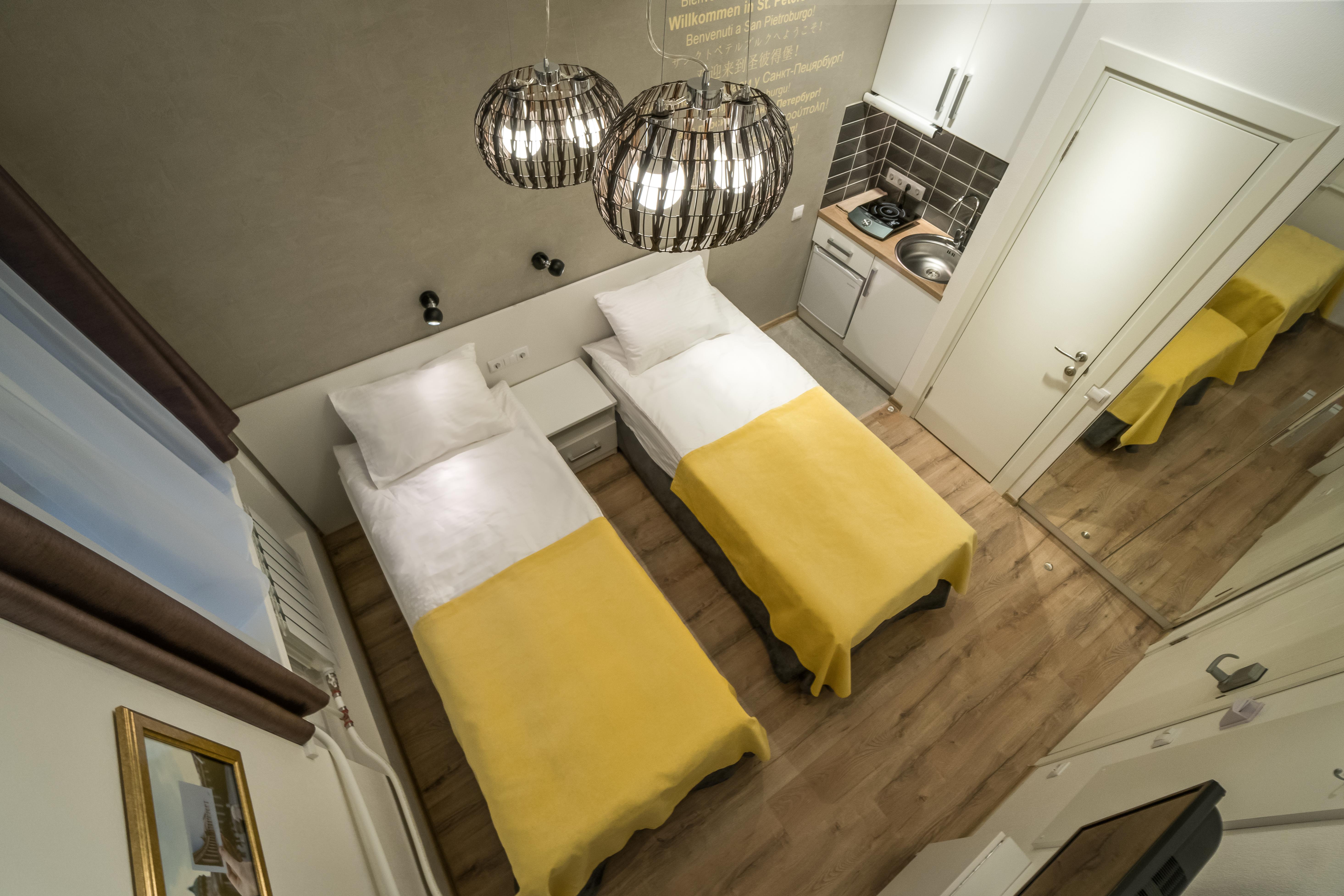 Общий вид в апартаменте DBLTW 102