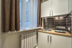 Мини-кухня в семейном апартаменте-ст