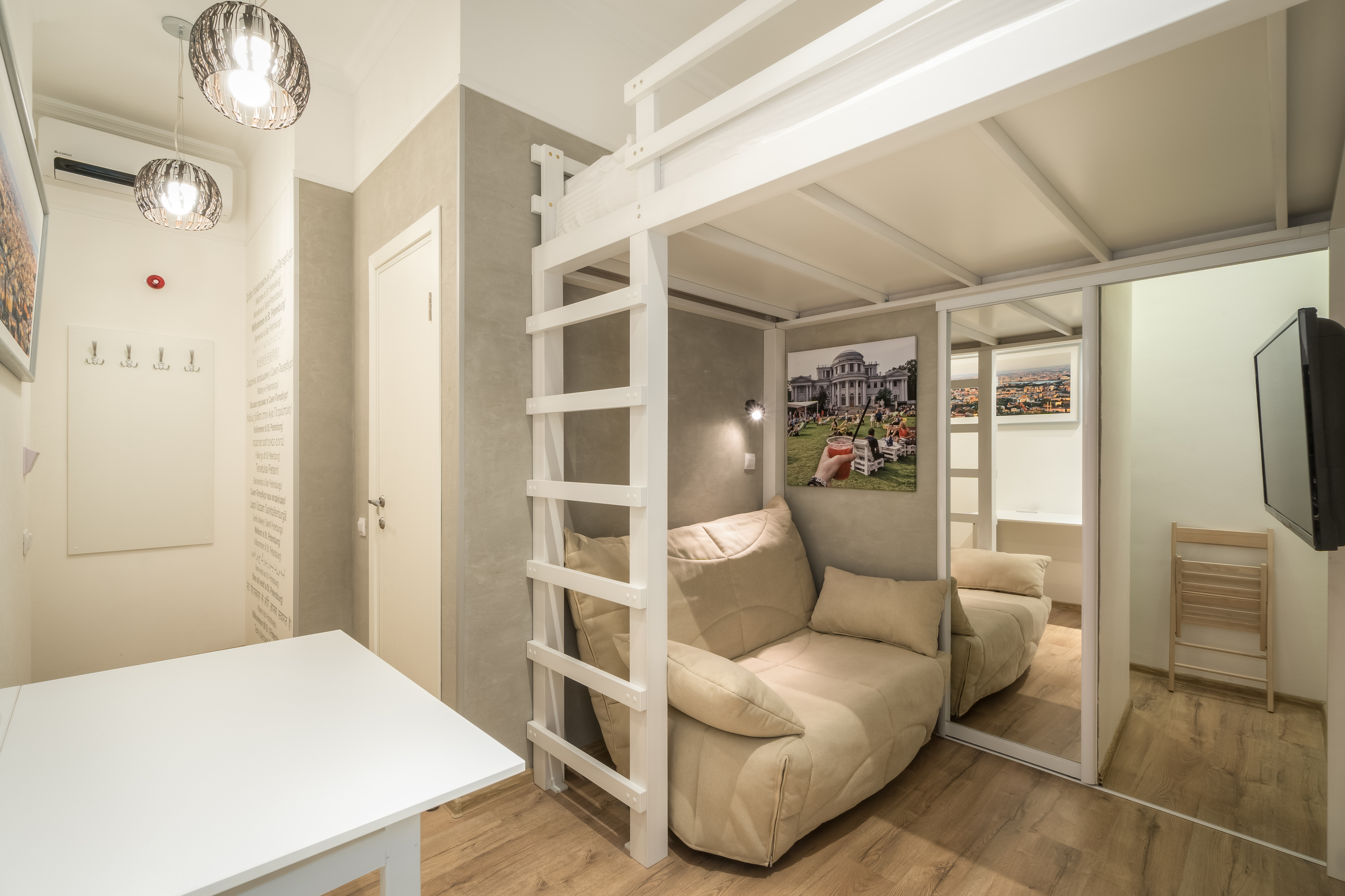 Family studio apartment