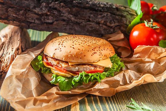Бургер с курятиной (Chicken burger)