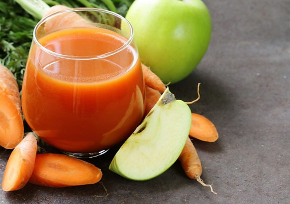 Яблоко-морковь