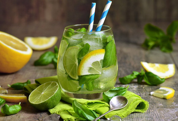 Лимон-лайм-мята