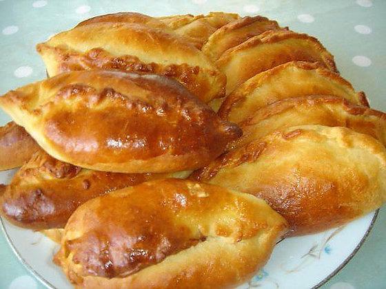 Славянские пирожки с капустой