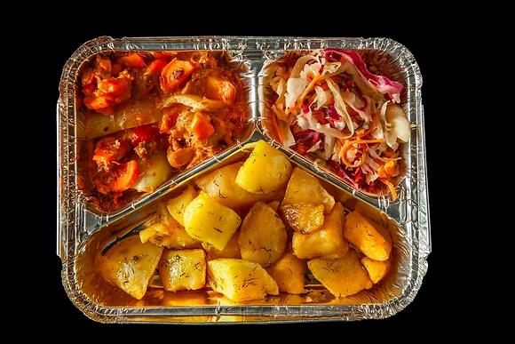 N8 Желтый картофель/мексиканский/с капустой