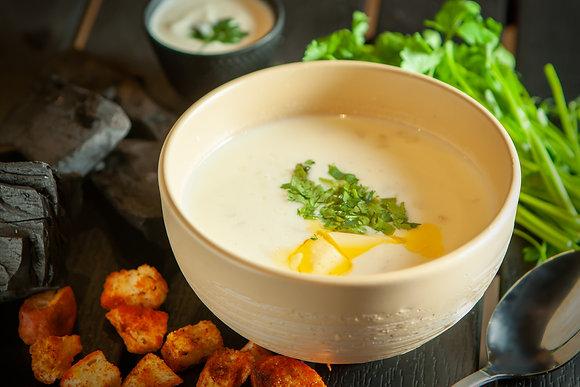 Армянский суп «Спас»/из мацони