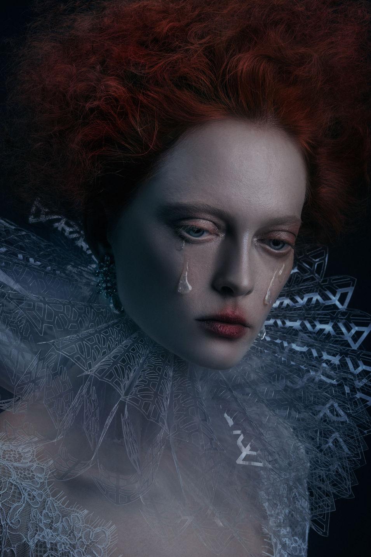 Crystal Clear Collar Photo: Ekaterina Makeup: Viktorija Bowers Hair Stylist: Radmila Borkovic Wardrobe: Corvus + Crux