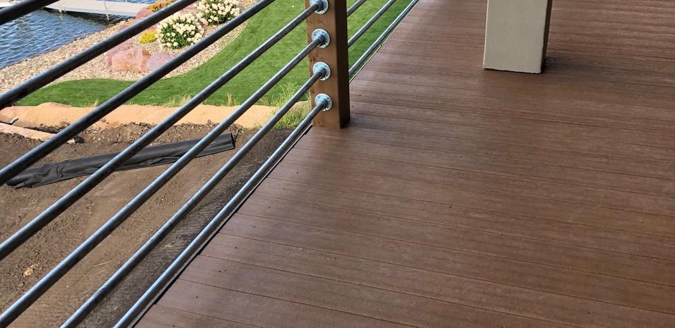 Custom Deck Construction