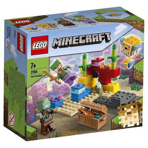 LEGO Minecraft 21164 Reciful de corali / Коралловый риф