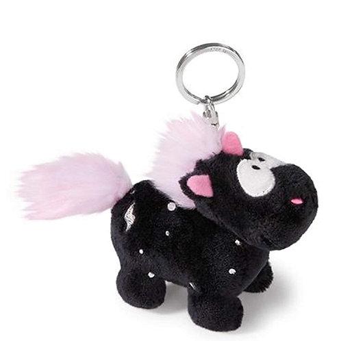 NICI 41410 Единорог черный / Unicorn negru 10 cm