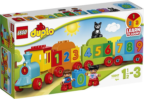 LEGO DUPLO 10847 Trenul cu numere / Поезд Считай и играй