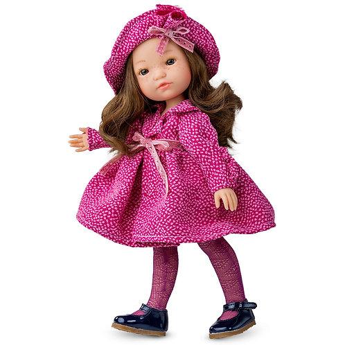 BERJUAN 845 Papusa din vinil 35cm / Кукла виниловая 35см