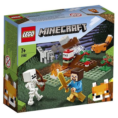 LEGO MINECRAFT 21162 Aventura din Taiga / Приключения в тайге