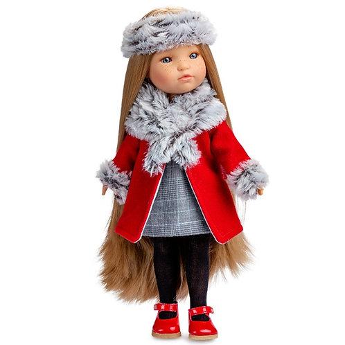 BERJUAN 848 Papusa din vinil 35cm / Кукла виниловая 35см