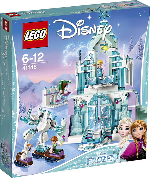 LEGO DISNEY 43172 Elsa si Palatul ei magic de gheata / замок Эльзы