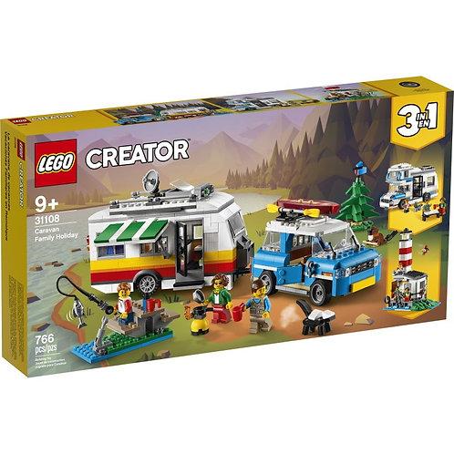 LEGO Creator 31108 Sărbătoare de caravană în familie / Отпуск в доме на колесах