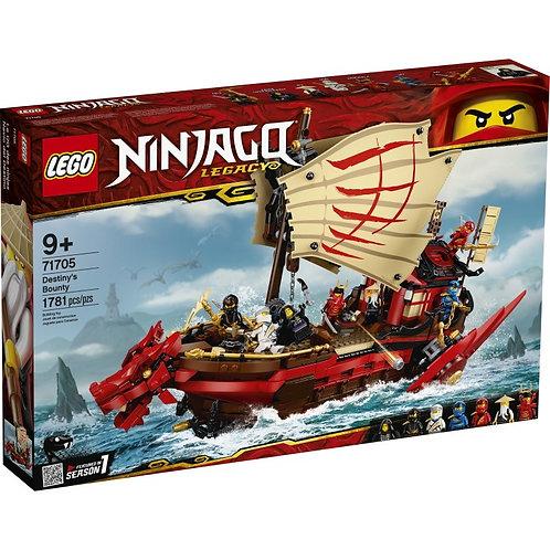LEGO NINJAGO 71705 Recompensa Destinului / Летающий корабль Мастера Ву