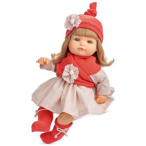 BERJUAN 779 Papusa din vinil 38cm / Кукла виниловая 38см