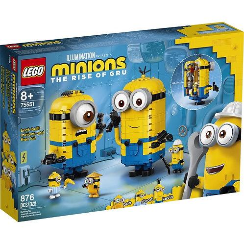 LEGO Minions 75551 Figurine Minioni din caramizi / Фигурки миньонов и их дом