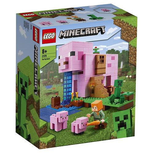 LEGO Minecraft 21170 Casuta purcelus / Дом-свинья