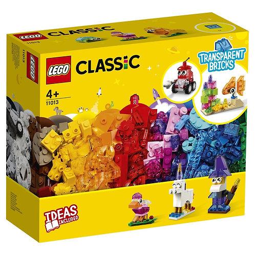 LEGO CLASSIC 11013 Caramizi transparente / Прозрачные кубики