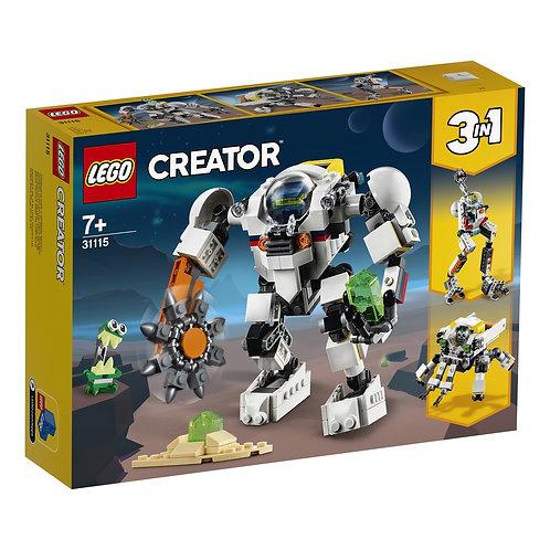 LEGO Creator 31115 Robot miner spatial / Космический робот