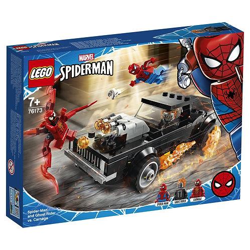 LEGO SUPER HERO 76173 Spider-Man si Ghost Rider / Человек-Паук и Призрачный Гонщ