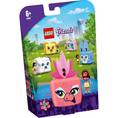 LEGO Friends 41662 Olivias Flamingo Cube / Куб Фламинго с Оливией