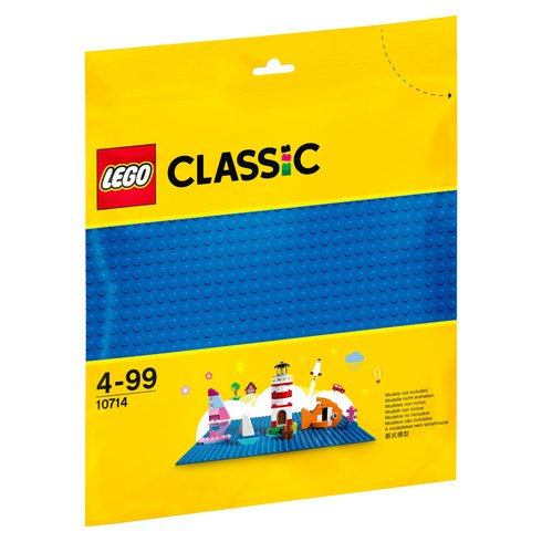 LEGO CLASSIC 10714 Placa de baza alba / Синяя пластина